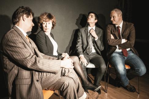 Theater: Die Grönholm Methode – 30.9.2018